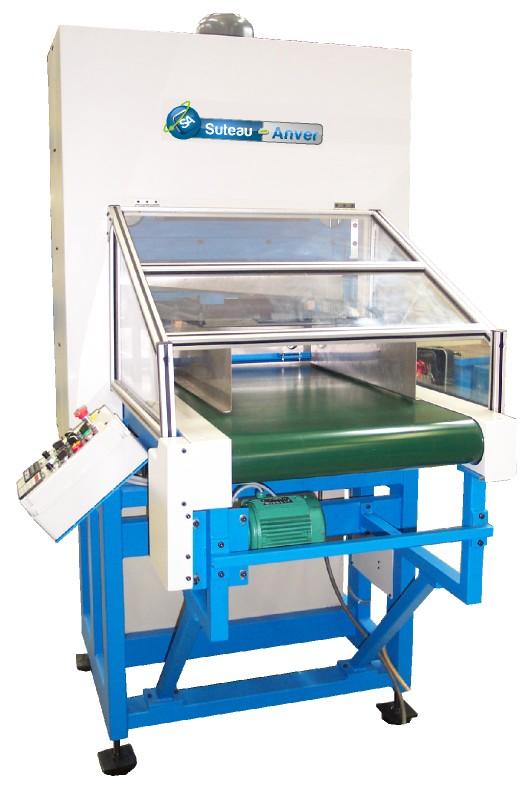 Automatische Schneidemaschine mit hohem Ausstoß für den Zuschnitt flexibler Materialien